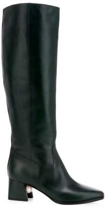 Nicholas Kirkwood Miri Faux Pearl Tall Leather Boots