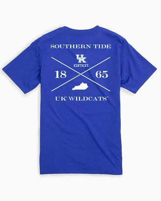 Southern Tide Kentucky Wildcats Short Sleeve T-Shirt