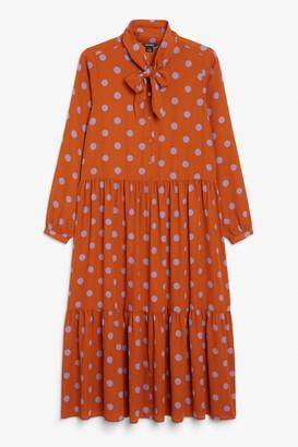 Monki Prairie maxi dress