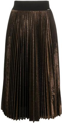 Liu Jo Pleated Midi Skirt