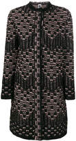 M Missoni patterned cardi-coat