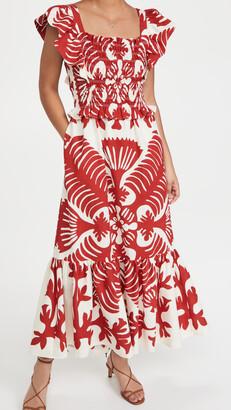 Sea Henrietta Print Smocked Dress