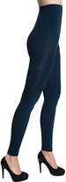 Navy High-Waist Firm Compression Leggings