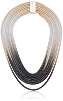 Steve Madden Ombre Snake Chain Necklace, 18""