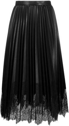 Ermanno Scervino Pleated Midi Skirt