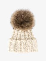 Inverni racoon fur bobble hat