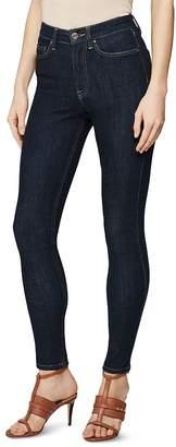 Reiss Skye High Rise Skinny Jeans in Skye Rinse
