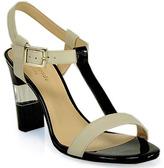 Kate Spade Illaria - Black and Cream Leather Sandals