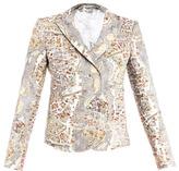 Carven Paris-print blazer