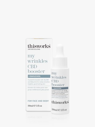 thisworks® This Works My Wrinkles CBD Booster Bakuchiol, 30ml
