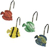 "Carnation Home Fashions Sea Life"" Resin Shower Curtain Hooks"
