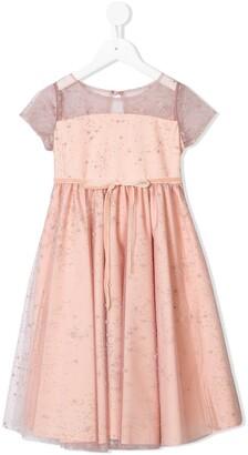 Marchesa Notte Mini Posey layered dress