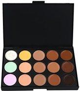 CrazyEve Professional 15 Color Contour Face Powder Makeup Concealer Camouflage Palette