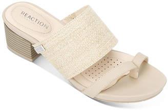 Kenneth Cole Reaction Women's Sandals MIST - Mist Raffia Late Thong Mule - Women