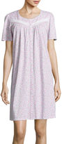 Earth Angels Short-Sleeve Nightgown - Petite