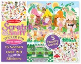 Melissa & Doug Scratch & Sniff Sticker Pad - Floral Fairies Toy