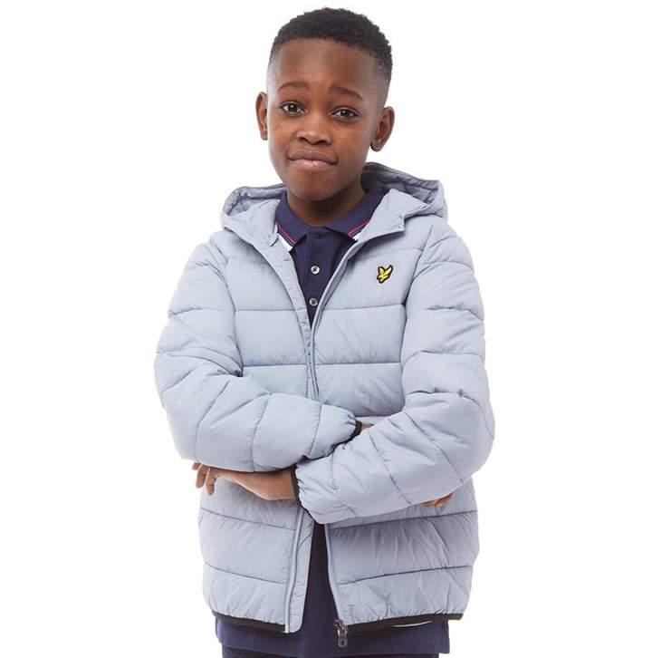57d28e447 Junior Boys Puffer Jacket Stonewash Blue