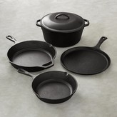 Lodge Cast Iron 5-Piece Cookware Set