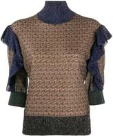 Chloé ruffled jumper