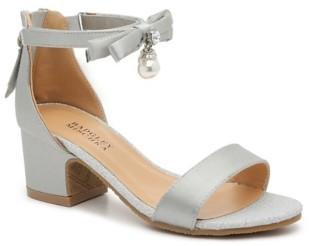 Badgley Mischka Pernia Pearl Bow Sandal - Kids'