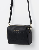 Love Moschino Double Heart Crossbody Bag