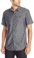 Burnside Men's Prime Short Sleeve Woven Shirt