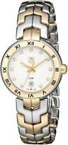 Tag Heuer Women's WAT1450.BB0955 Diamond-Accented Two-Tone Bracelet Watch