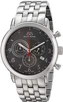 88 Rue du Rhone Men's 87WA120055 Analog Display Swiss Quartz Silver Watch