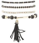 Charlotte Russe Plus Size Beaded Layering Bracelets - 5 Pack
