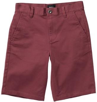RVCA Weekday Stretch Shorts (Big Boys)