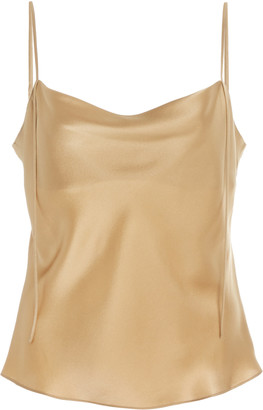 Vince Draped Silk Camisole