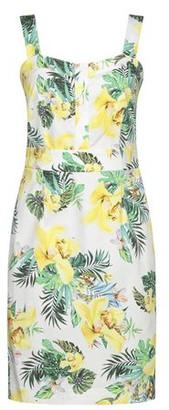Biancoghiaccio Knee-length dress