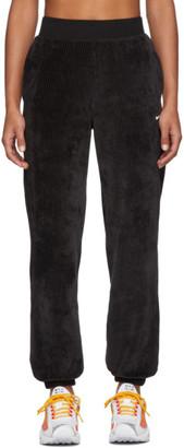 Nike Black Velour Lounge Pants