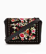 Very Embroidered & Stud Detail Crossbody
