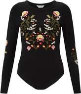 Miss Selfridge Petites Embroidered Body