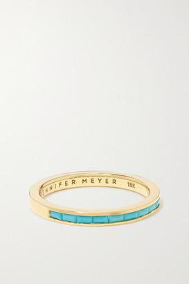 Jennifer Meyer 18-karat Gold Turquoise Ring - 6