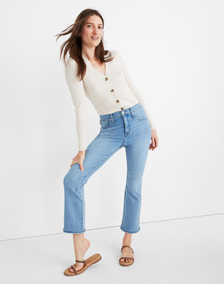 Madewell Petite Cali Demi-Boot Jeans in Connolly Wash: Coolmax Denim Edition