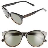 Shwood Women's Madison 54Mm Polarized Sunglasses - Black/ Olive/ Elm/ G15 Polar