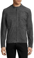 Strellson Beacon Suede Moto Jacket