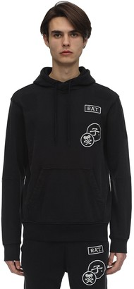 G Star CNY GRAPHIC PATCHES L/S T-SHIRT W/ HOOD