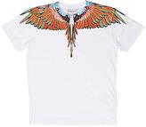 Marcelo Burlon County of Milan Feather-Print T-Shirt