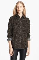 Burberry Print Corduroy Shirt
