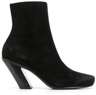 Ann Demeulemeester Camoscio boots