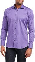Bogosse Thin Stripe Button-Down Shirt