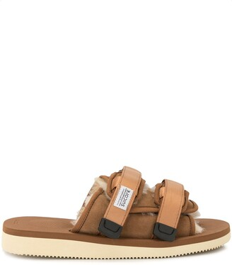 Suicoke Flat Touch Strap Sandals