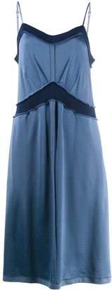MM6 MAISON MARGIELA exposed hem midi dress