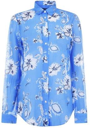 Gant Paisley Cotton Silk Shirt