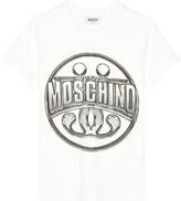 Moschino Logo-print cotton-jersey t-shirt 4-14 years