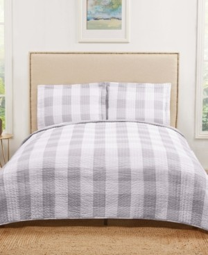 Truly Soft Everyday Buffalo Plaid Twin Xl Quilt Set