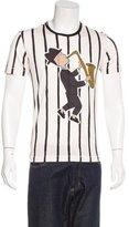 Dolce & Gabbana 2016 Sax Player Appliqué T-Shirt w/ Tags